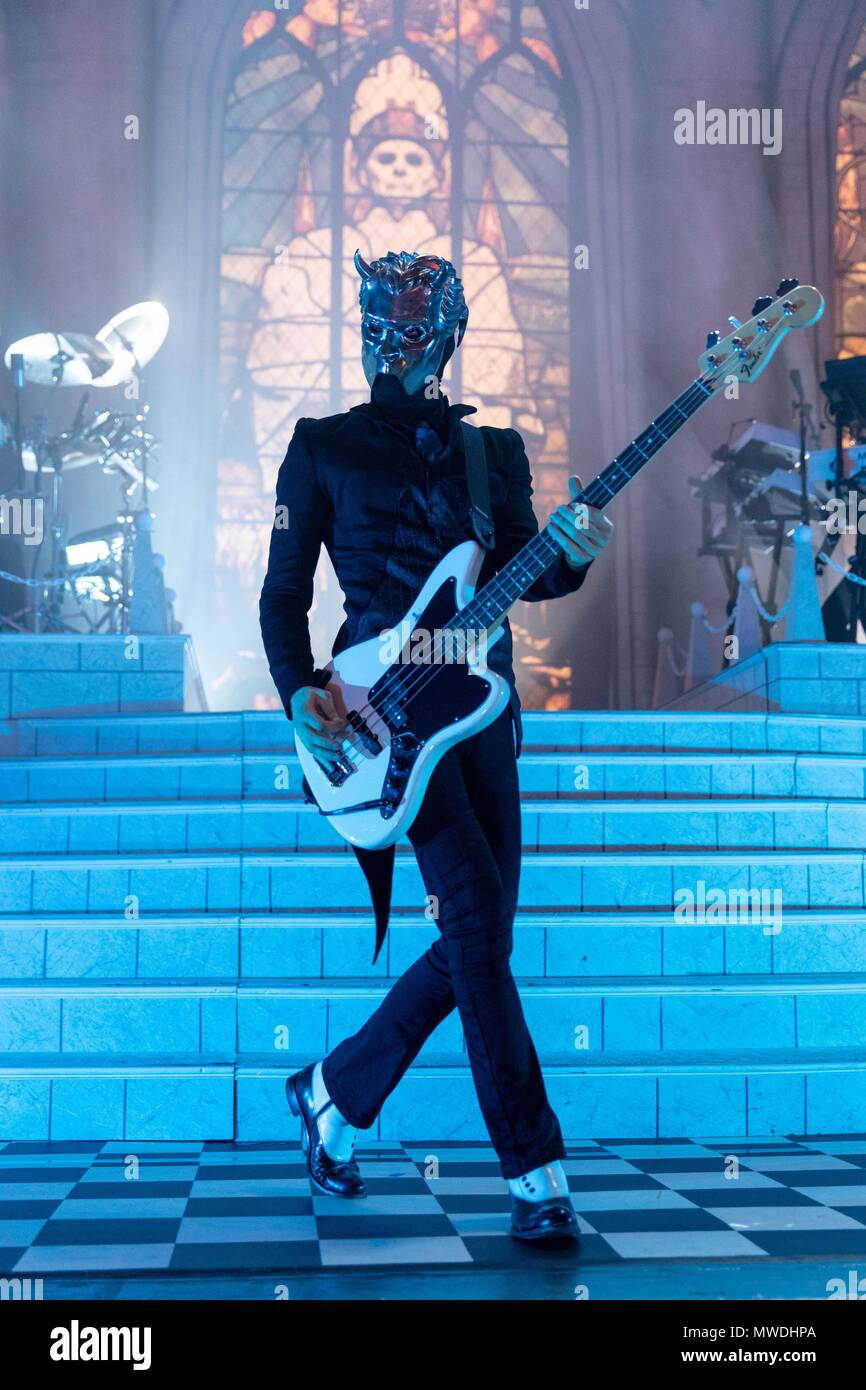Milwaukee, Wisconsin, USA. 31st May, 2018. NAMELESS GHOUL of Ghost ...