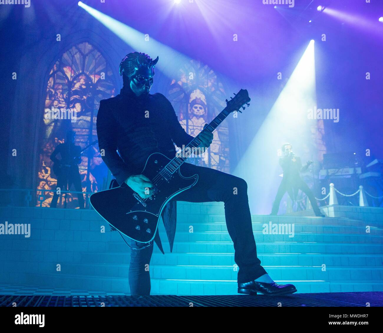 Milwaukee, Wisconsin, USA. 31st May, 2018. NAMELESS GHOULS and ...