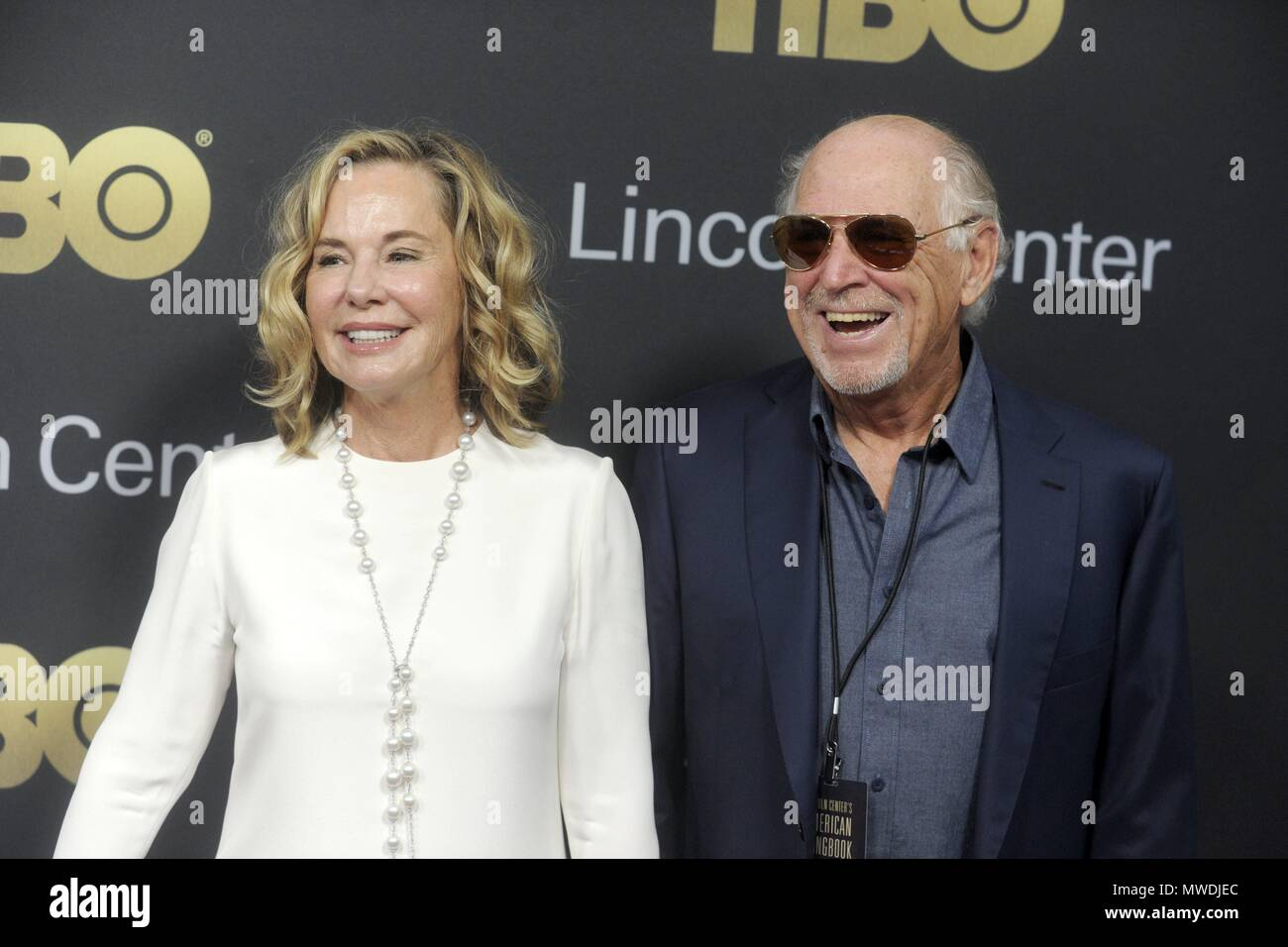 New York City  29th May, 2018  Jimmy Buffett and his wife Jane