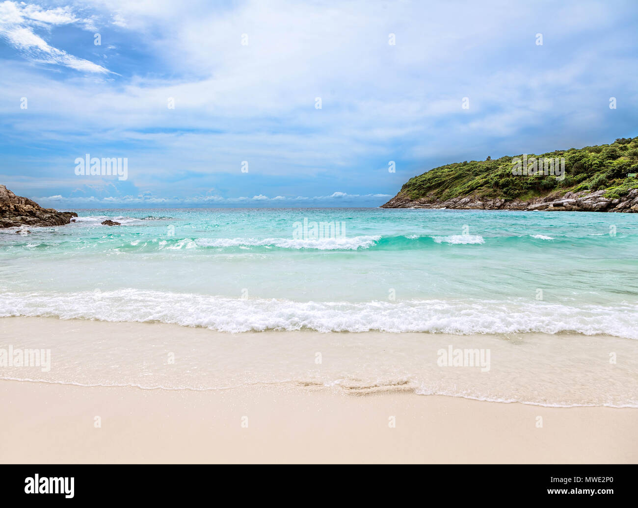 Tropical beach. Koh Racha. Thailand. - Stock Image