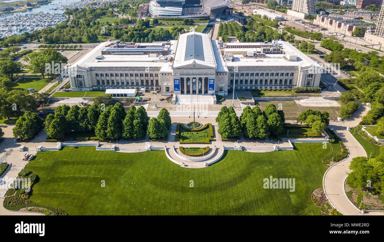 The Field Museum of Natural History, Chicago, IL, USA - Stock Image