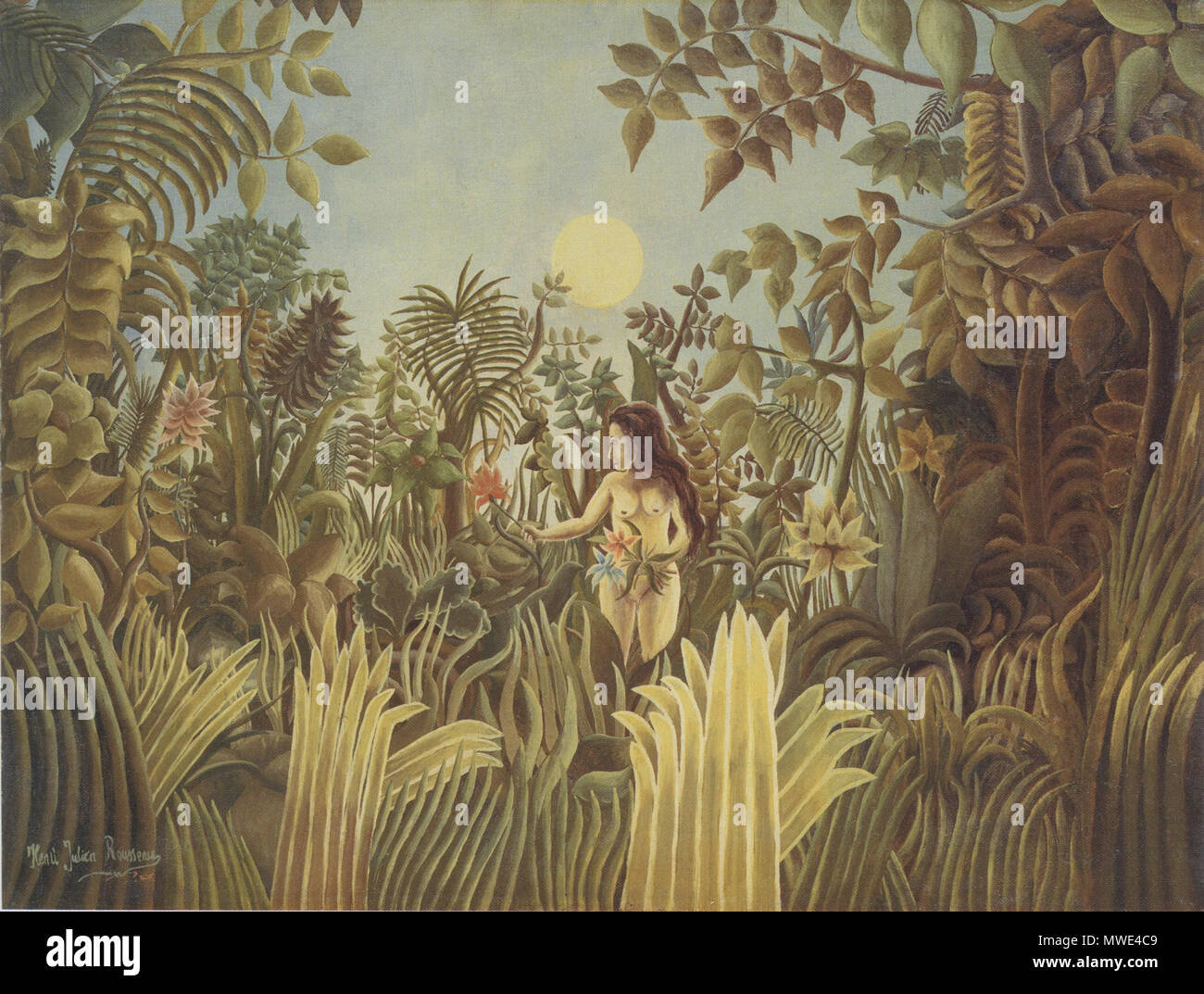 Eve In The Garden Of Eden Stock Photos & Eve In The Garden Of Eden ...