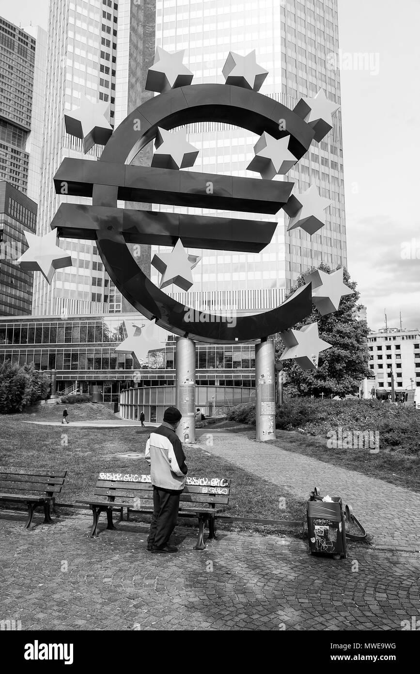 A gray future awaits to Europe - Stock Image