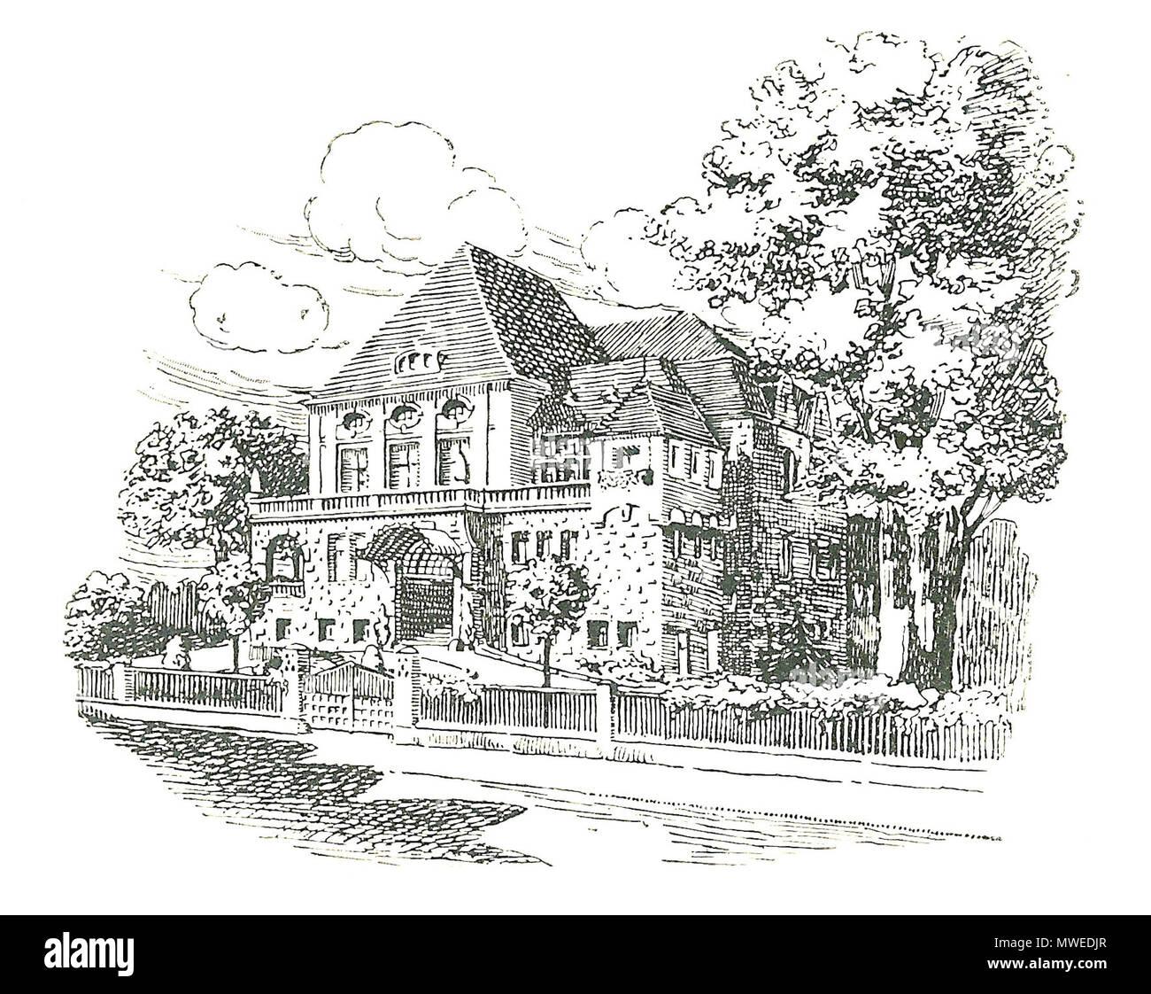 English Former House Of De Corps Franconia Jena Germany