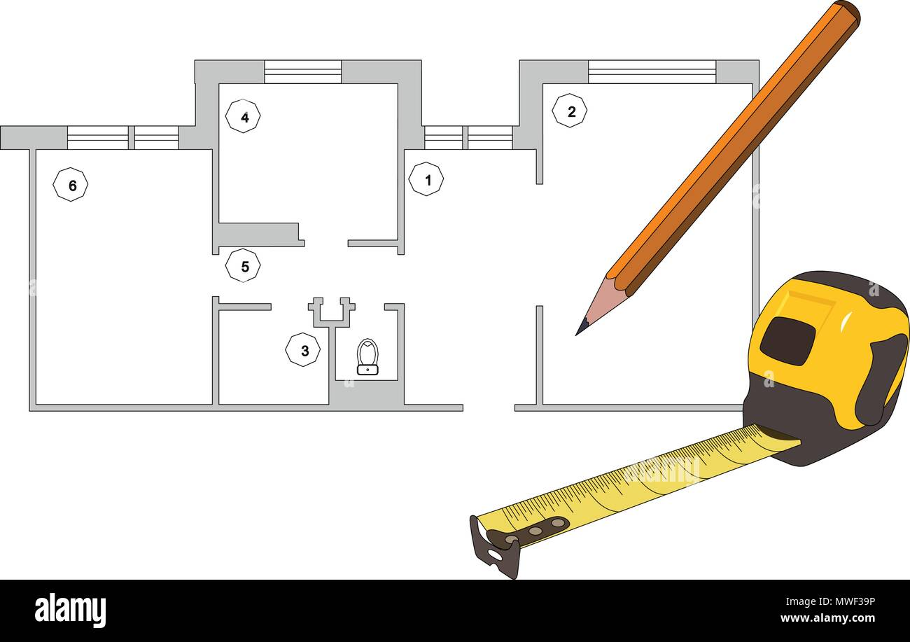 Project design concept vector - Stock Image