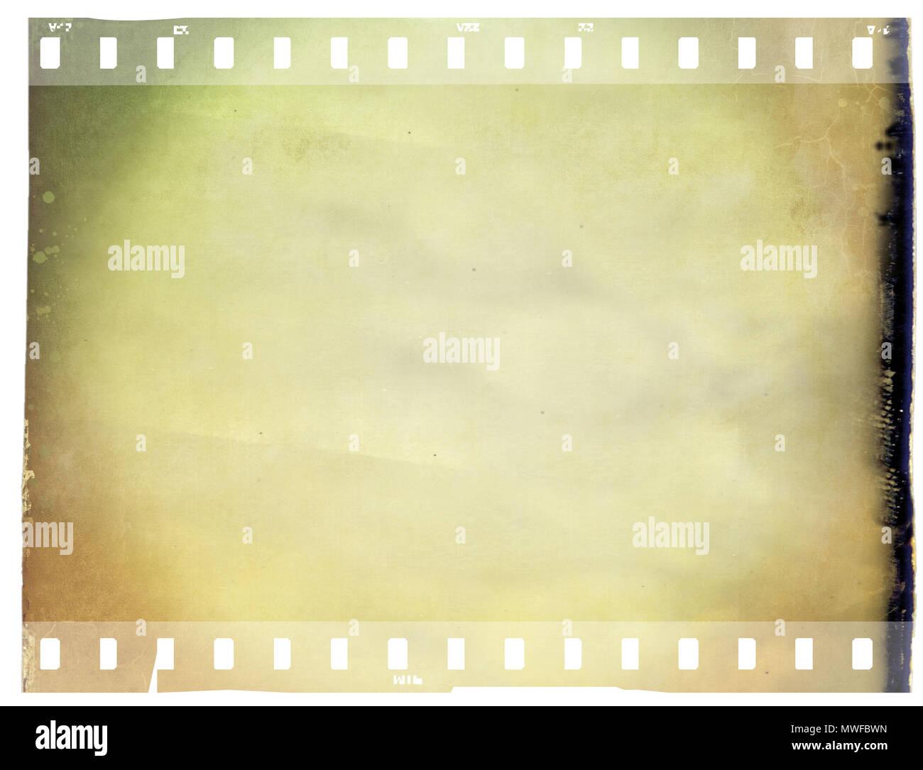 Vintage sepia film strip frame with copy space Stock Photo ...
