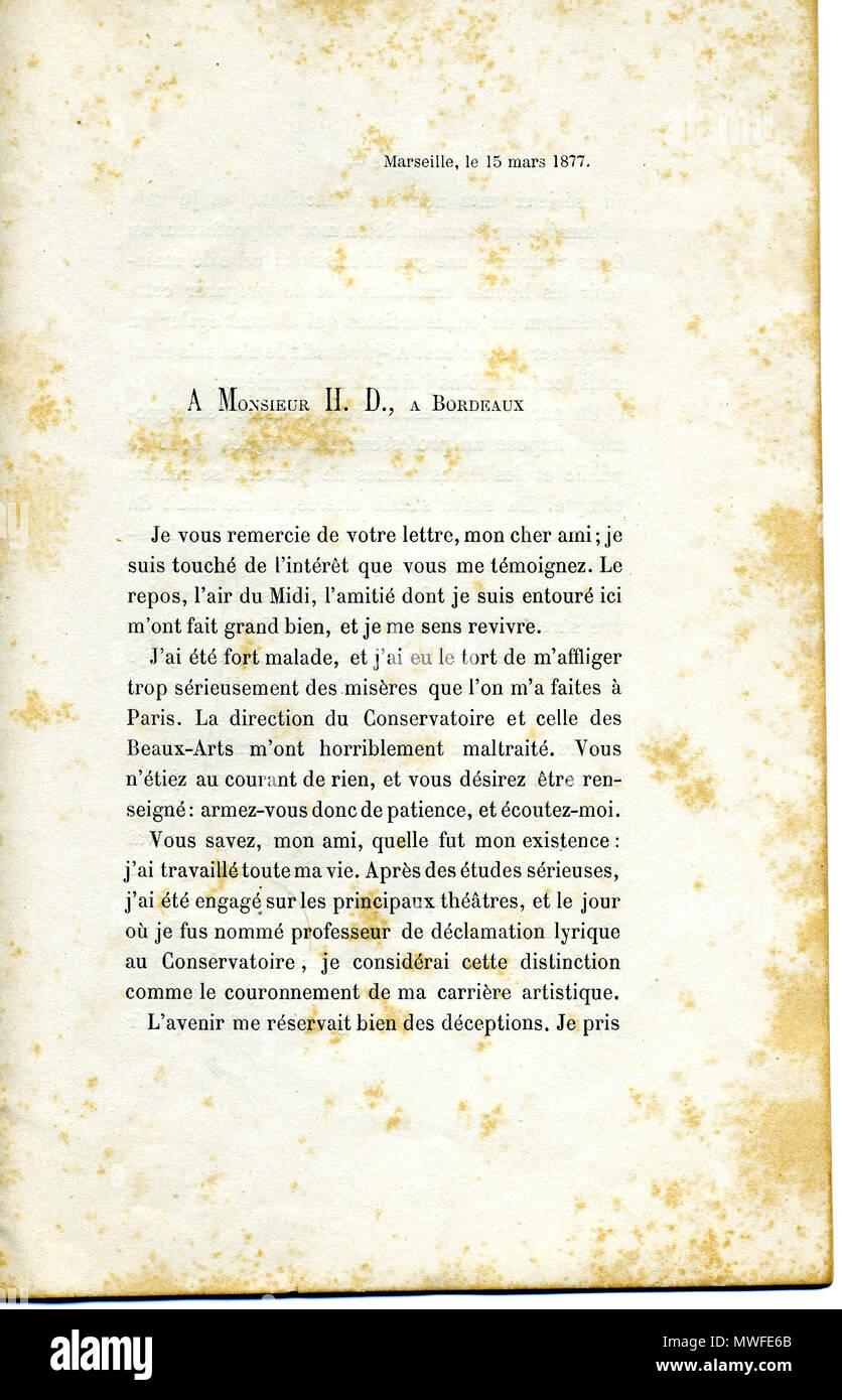 English: Justification Jean Vital Jammes Français : Date