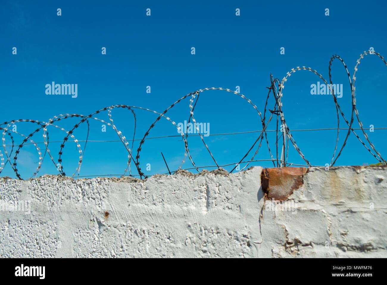 Security Barrier Deterrent Stock Photos & Security Barrier Deterrent ...