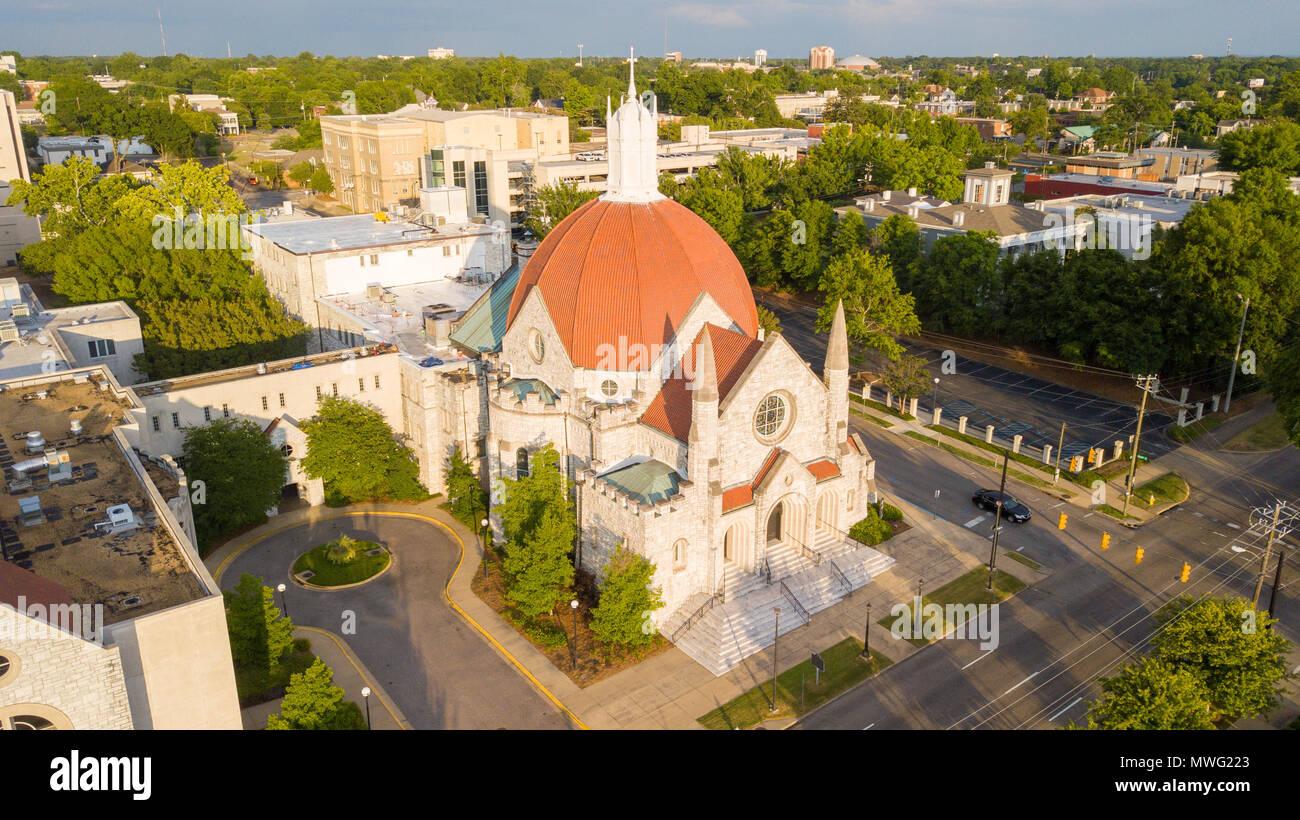 First Baptist Church, Montgomery, Alabama, USA Stock Photo