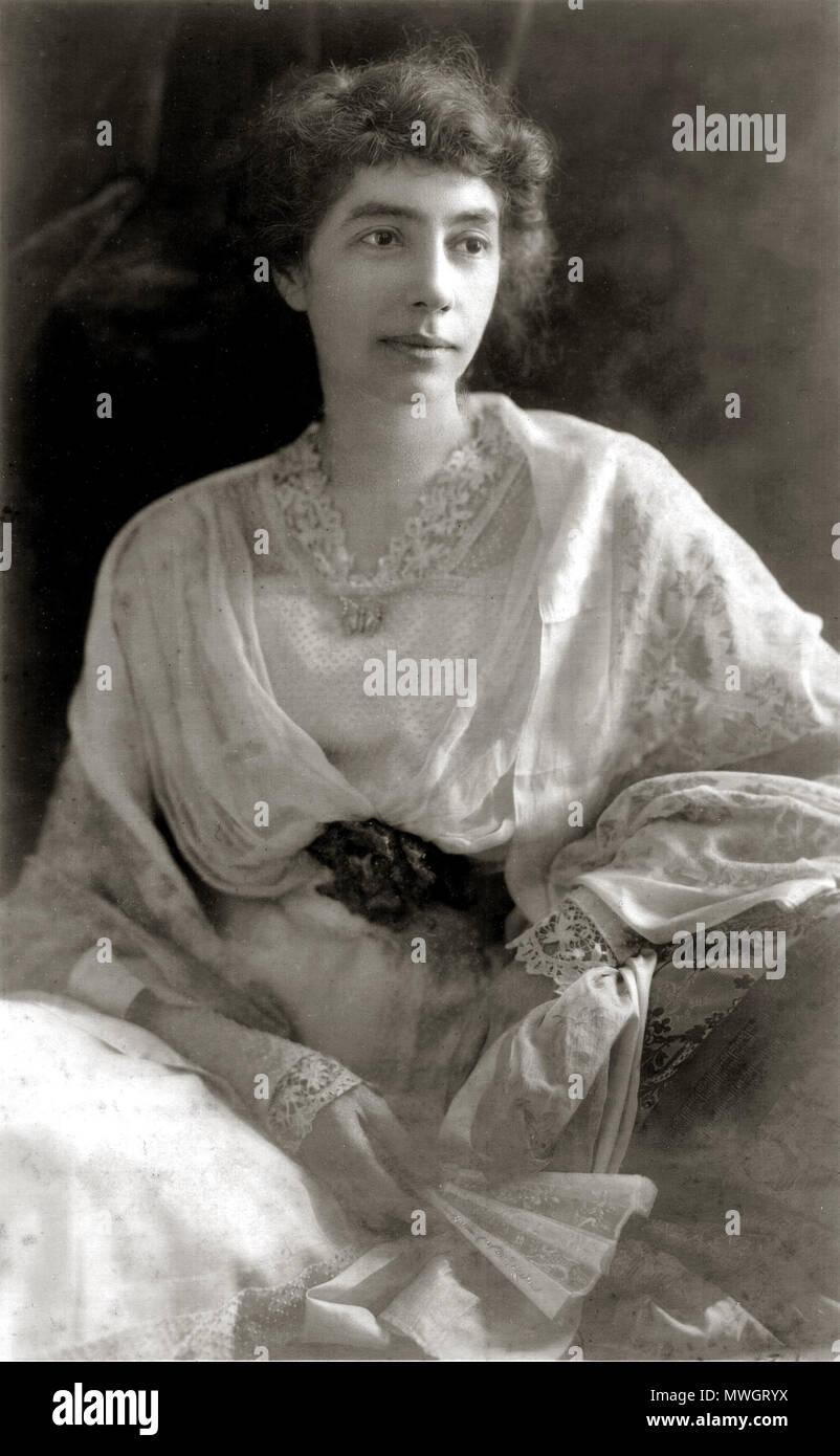 . Madeline McDowell Breckinridge . circa 1900. unattributed 385 Madeline McDowell Breckinridge c1900 - Stock Image