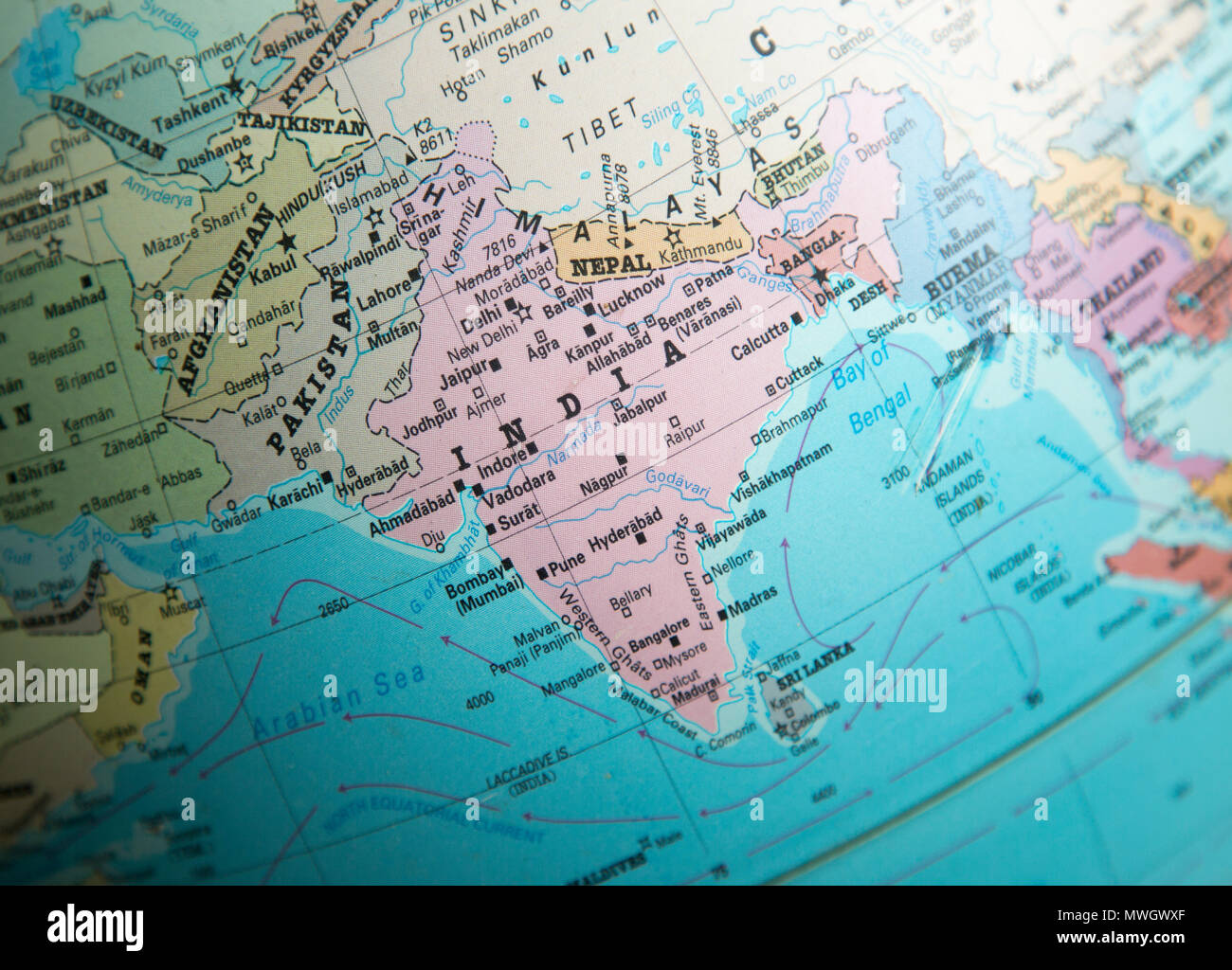Map Of India And Pakistan Border.India Pakistan Border Map Stock Photos India Pakistan Border Map