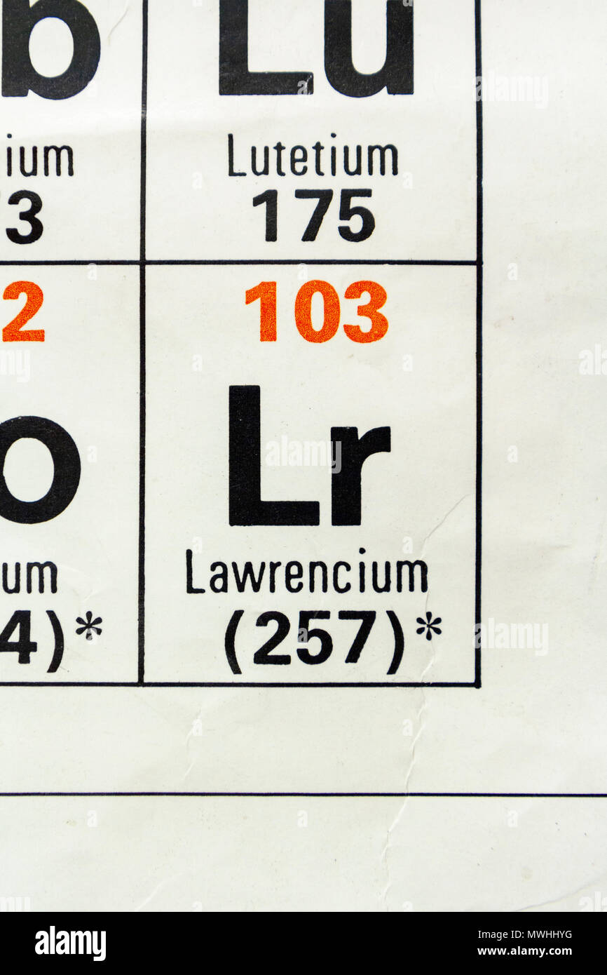 Relative atomic mass stock photos relative atomic mass stock lanthanum la as it appears a uk secondary school periodic table stock urtaz Image collections