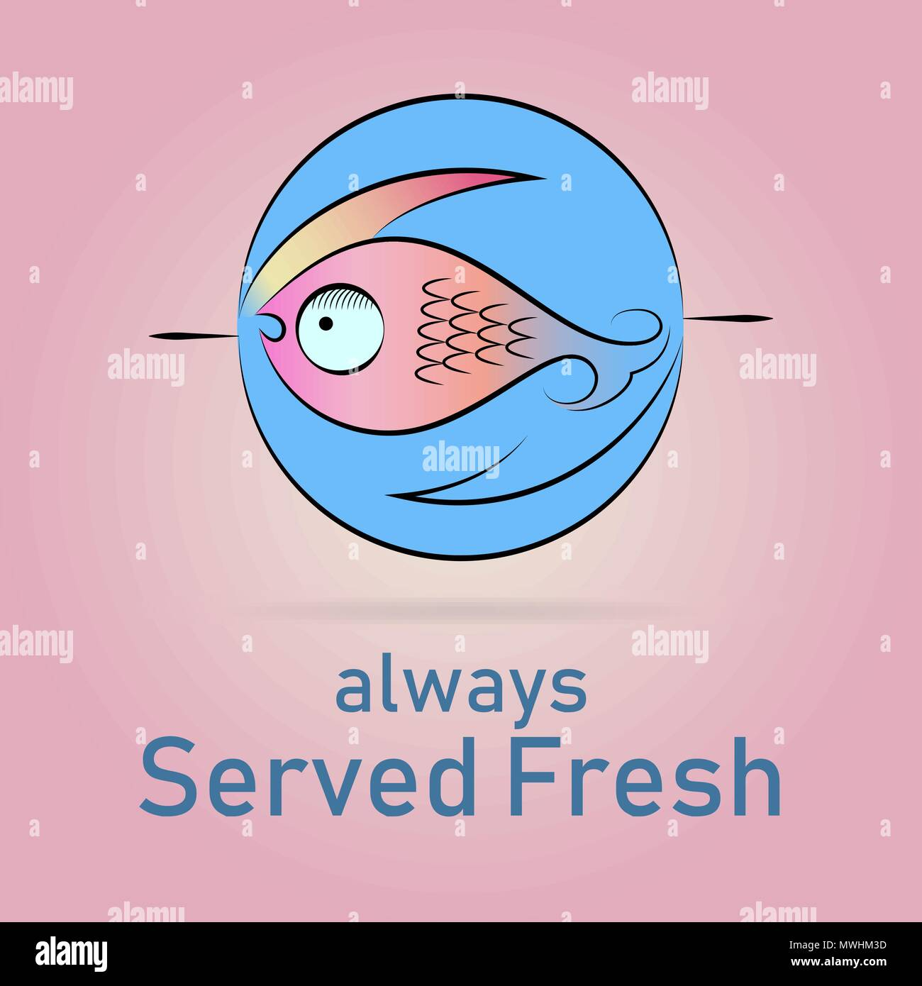Fish Logo For Seafood Restaurants And Fishing Related