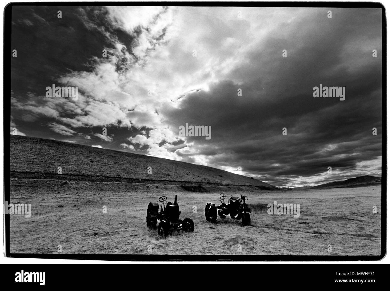 Wyoming USA - Stock Image