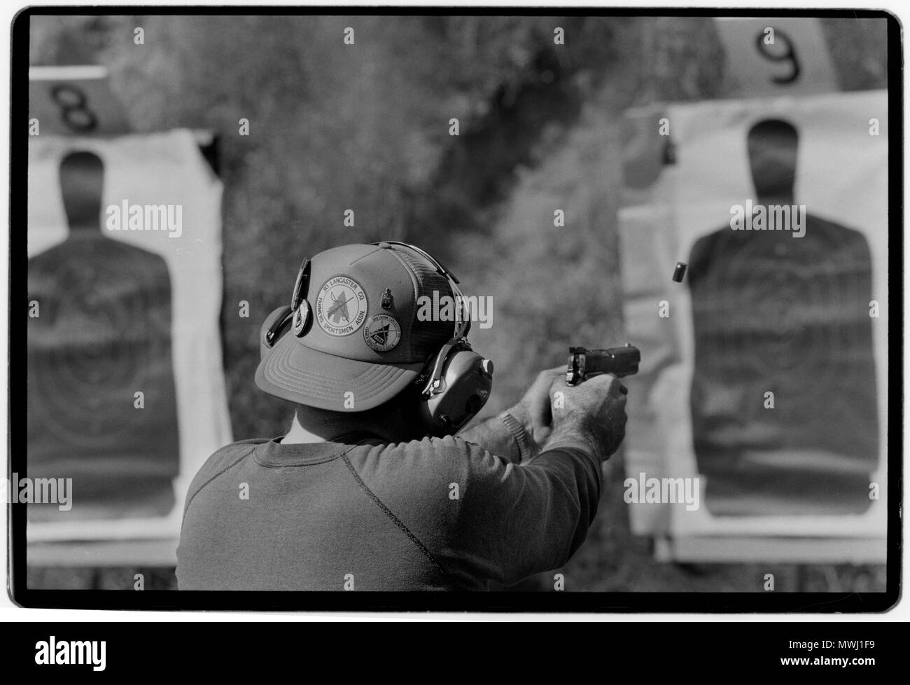 Gun Club Maryland USA. 1988 - Stock Image