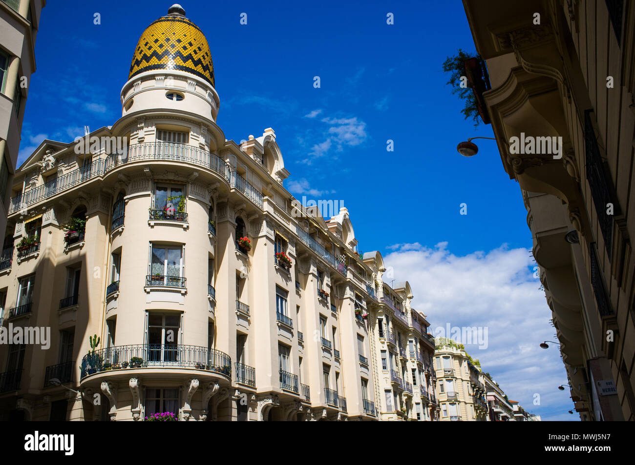 Office Building In Nice With Beautiful Mosaic Dome Cote D Azur
