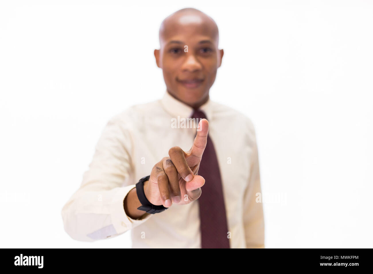 6d37a377533 Attractive African American man wearing formal wear with tie ...