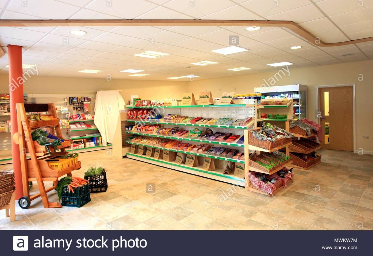 The Burrow village store in Exbourne in Devon, Hobbit Store. The ...