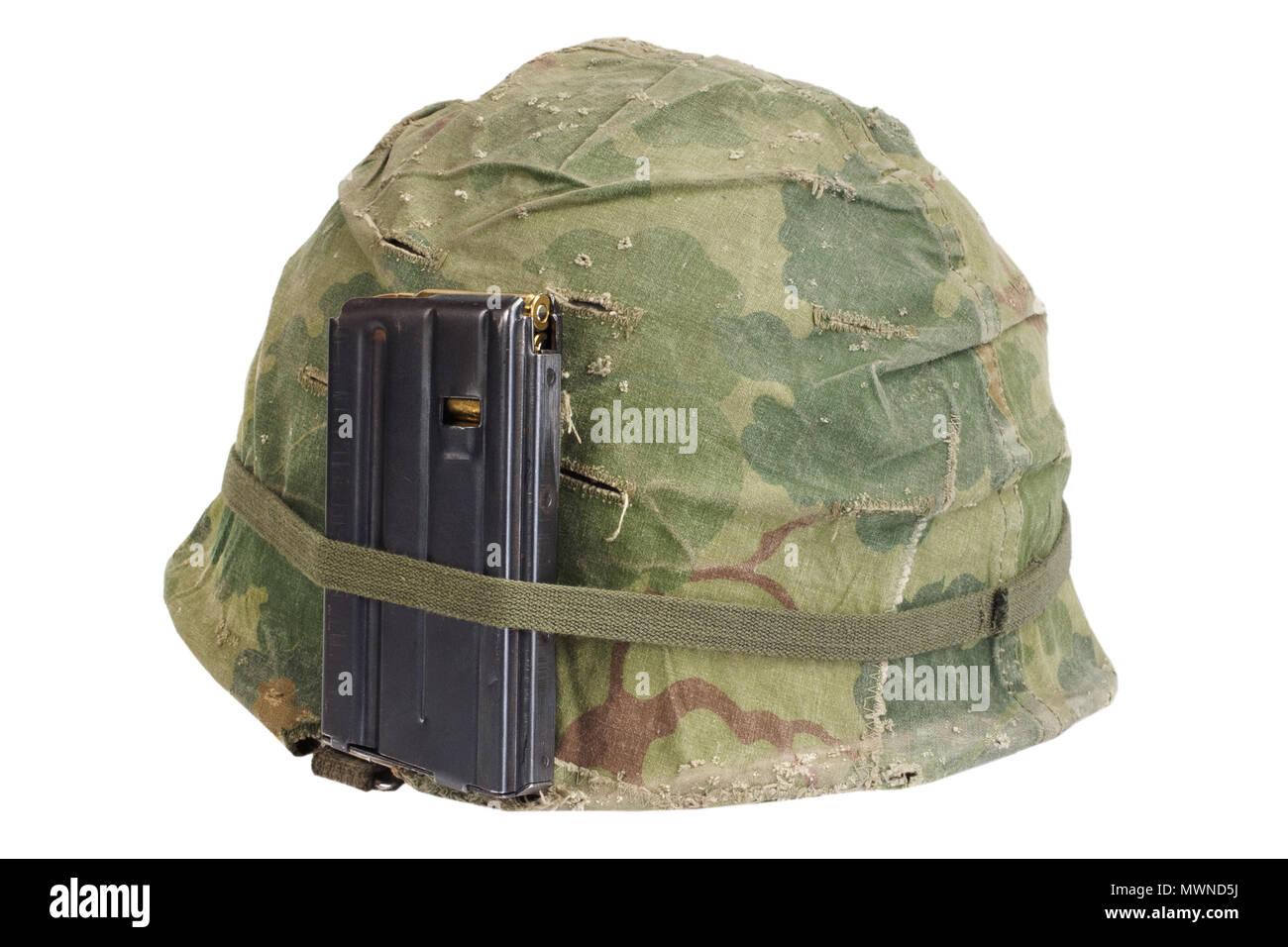 Us Army Helmet Vietnam War Period 1964 1974 Stock Photo Alamy