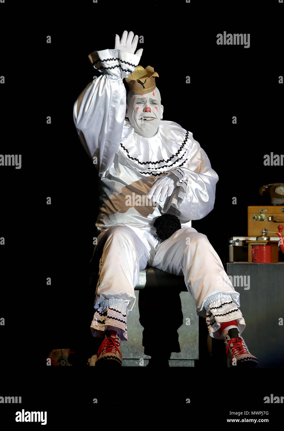 puddles pity party performs at manchester o2 ritz featuring puddles