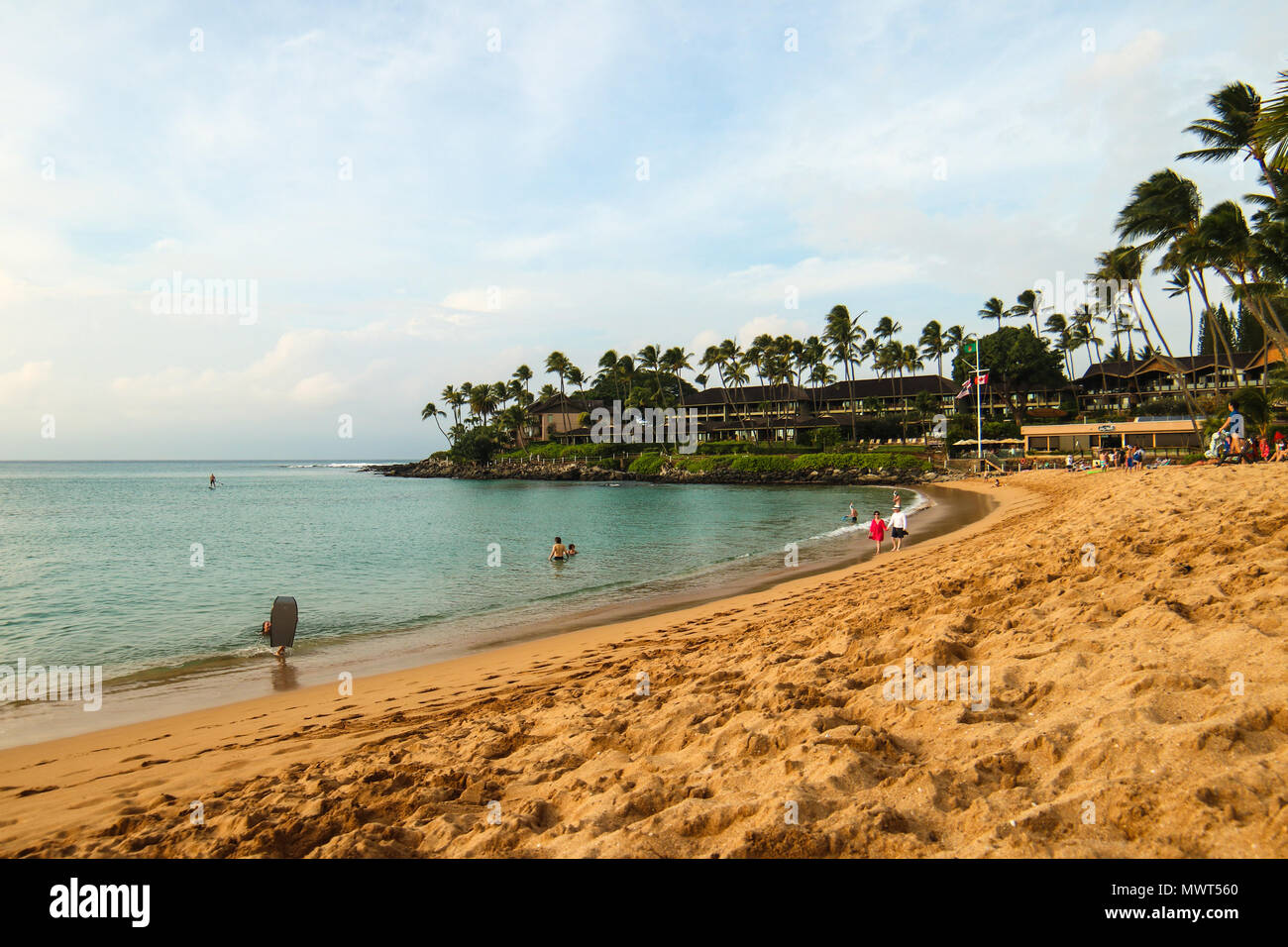 Frequently Rated As One Of The Most Beautiful Beaches In The World Kaanapali Beach In Lahaina Maui Hawaii Stock Photo Alamy,Fall Blooming Perennials Fall Perennial Flowers