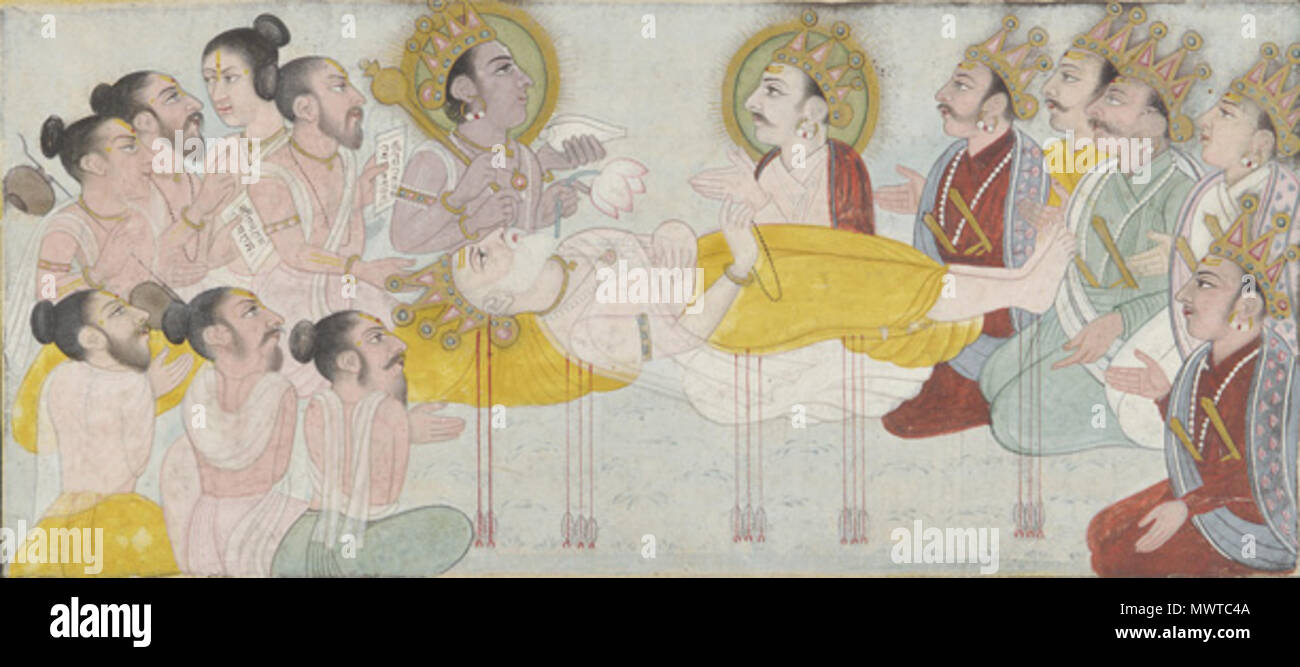 Bhishma High Resolution Stock Photography And Images Alamy