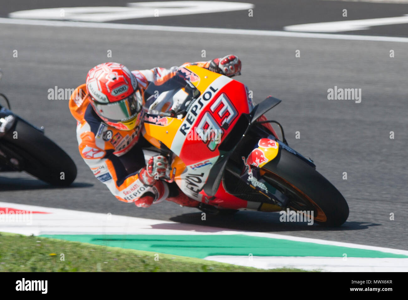 7fc1d21c52 ... Qualifications at the Mugello International Cuircuit for the sixth  round of MotoGP World Championship Gran Premio ...