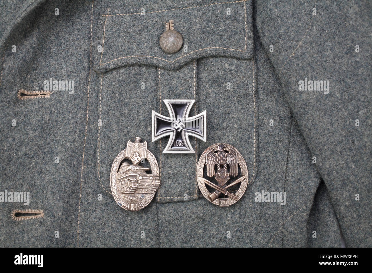 Uniform Iron Cross Medal Stock Photos & Uniform Iron Cross