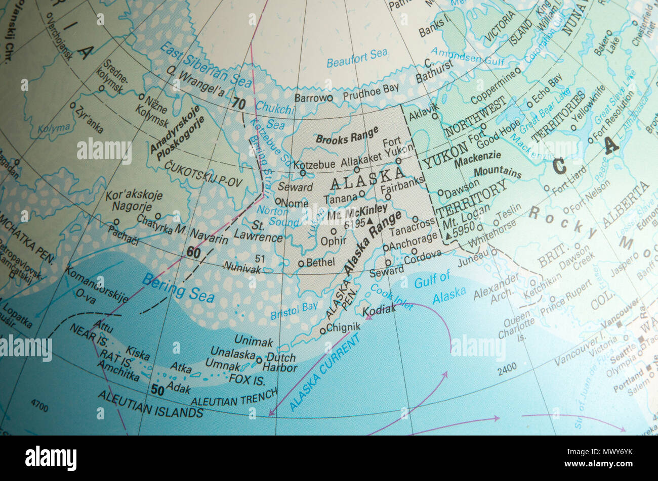 Picture of: Bering Sea Map High Resolution Stock Photography And Images Alamy
