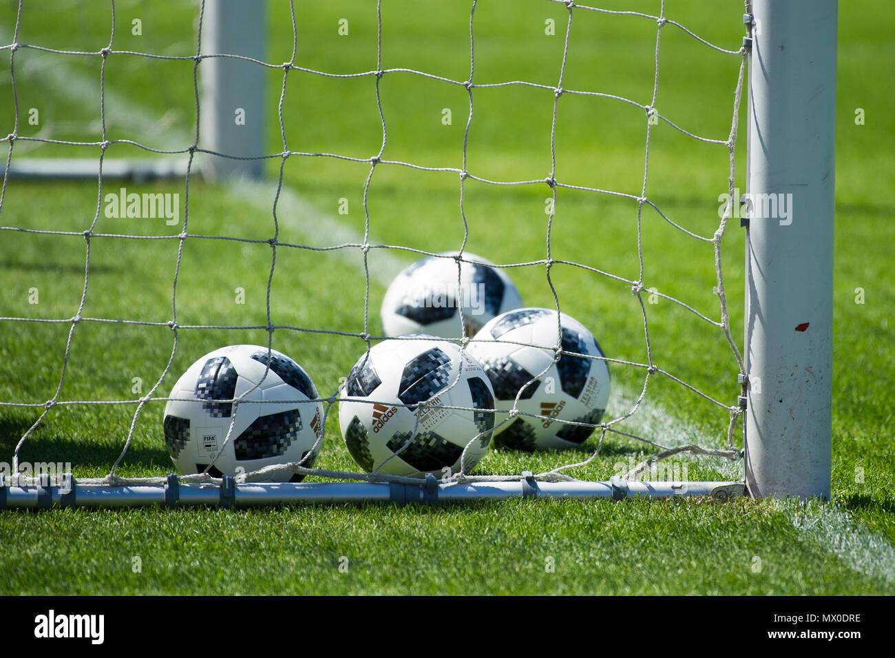 Adidas Telstar 18 is the official match ball of the 2018 FIFA World Cup in Russia May 23rd 2018 © Wojciech Strozyk / Alamy Stock Photo - Stock Image