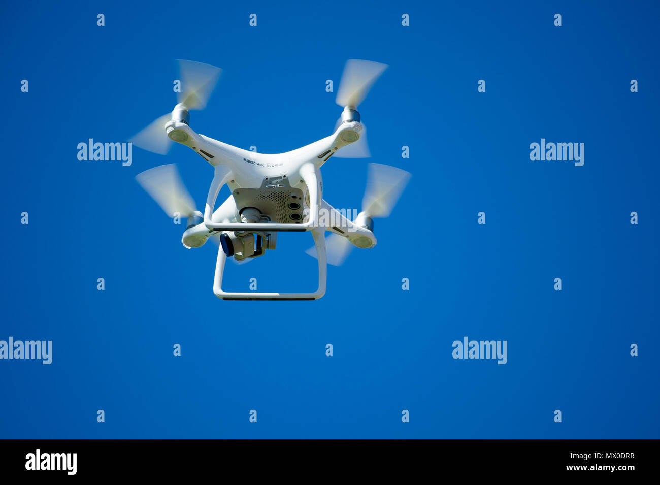 Unmanned aerial vehicle. May 23rd 2018 © Wojciech Strozyk / Alamy Stock Photo - Stock Image