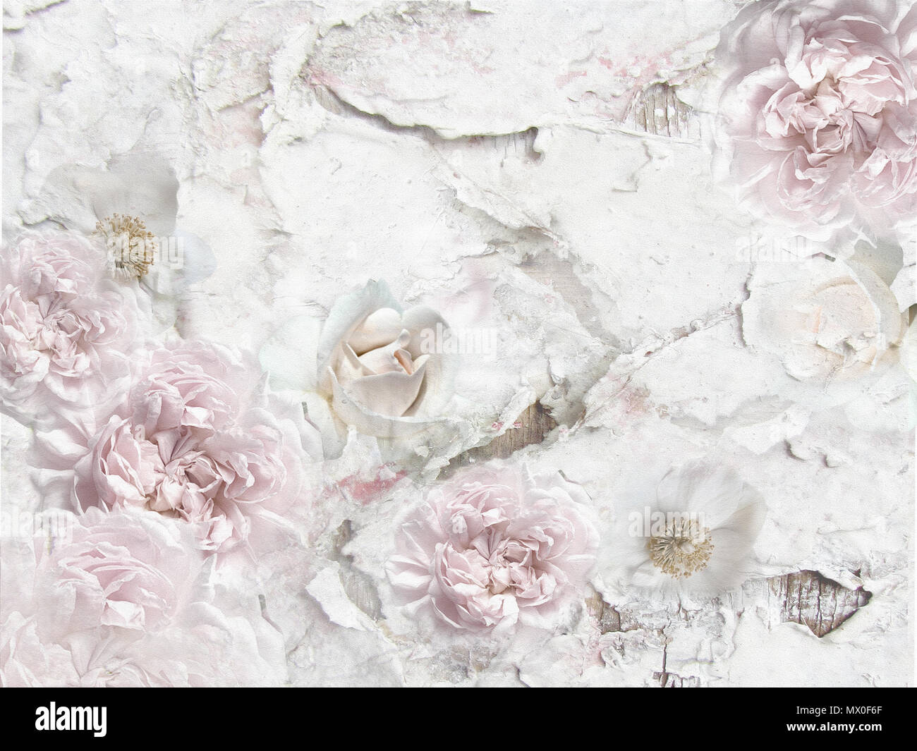 Vintage Floral Background Stock Photos Vintage Floral Background
