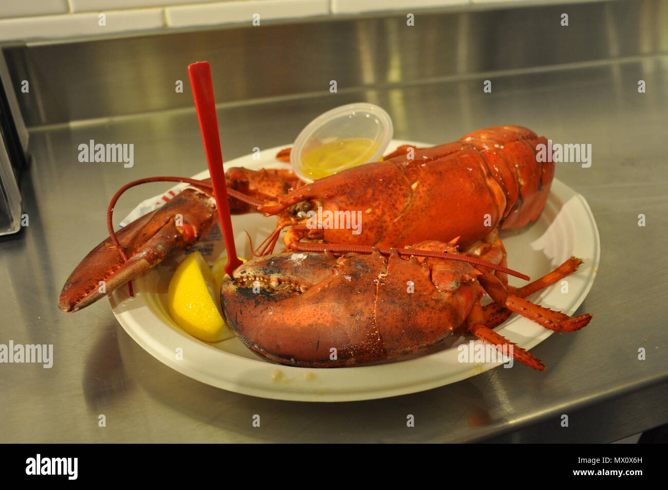 Lobster Dinner Usa Stock Photos & Lobster Dinner Usa Stock Images - Alamy