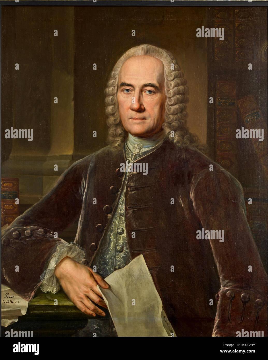 305 Jacob Theodor Klein Gemälde von J. Wessel - Stock Image