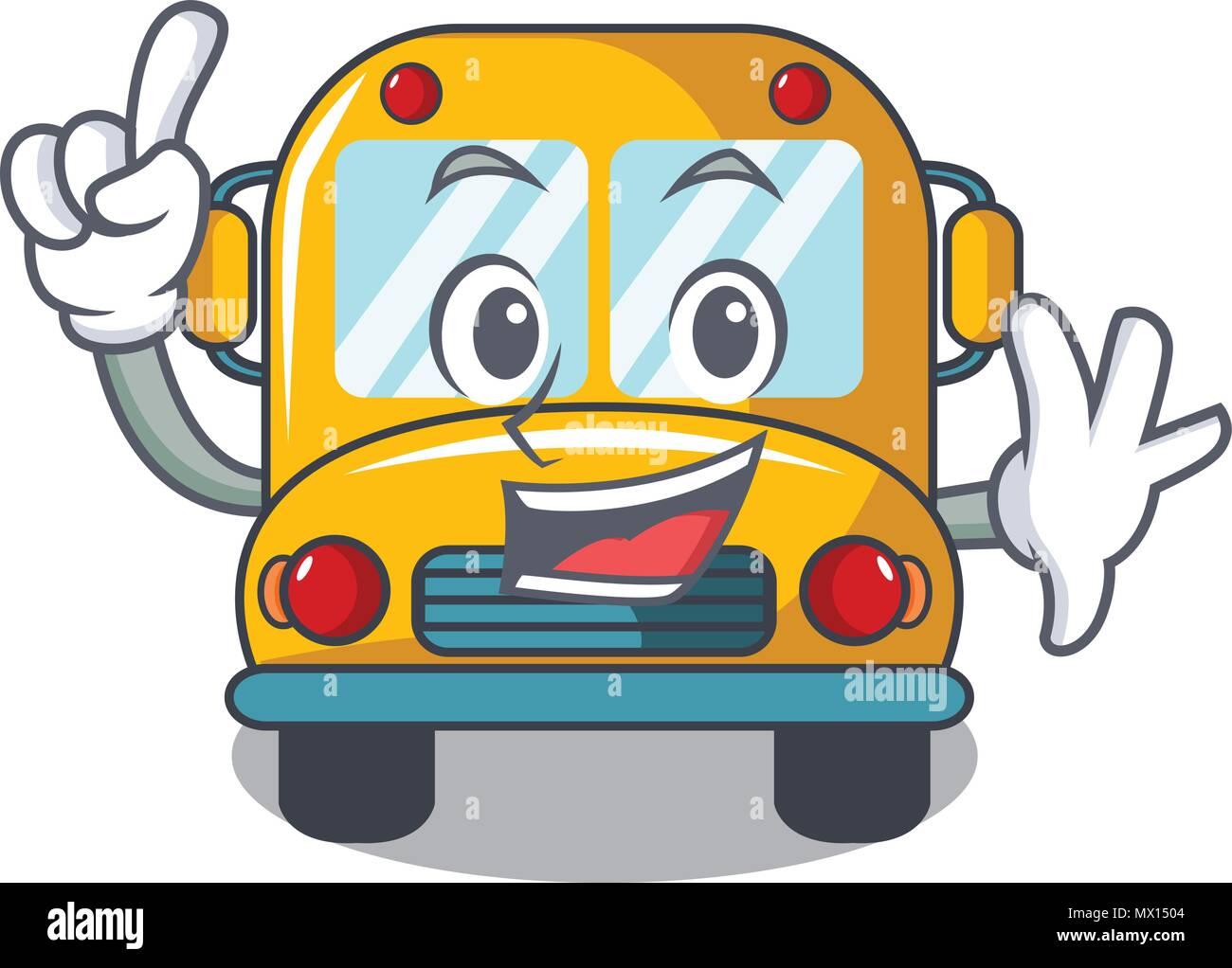 fingern im bus