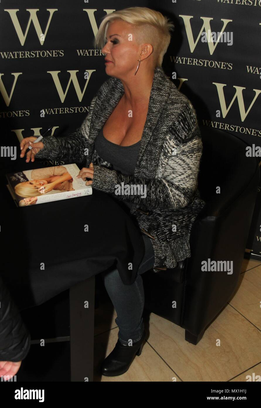 Liverpool, uk, kerry Katona Book Signing in Birkenhead credit Ian Fairbrother/Alamy Stock Photos Stock Photo