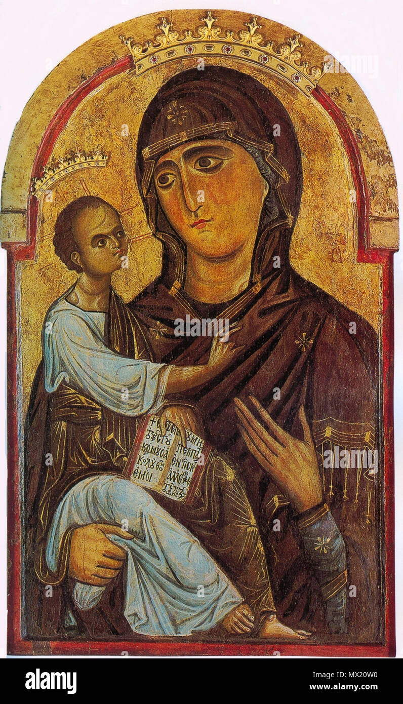 berlinghiero madonna and child
