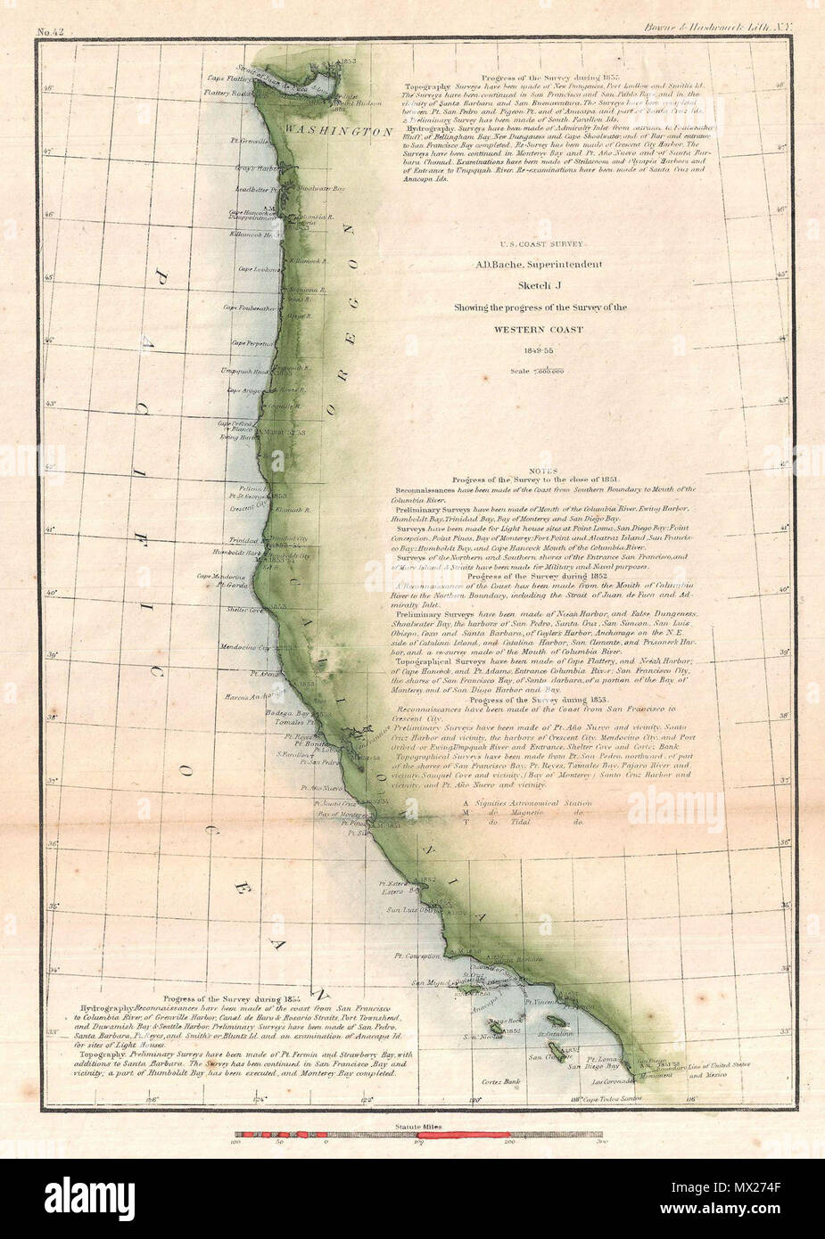 Sketch J Showing the progress of the Survey of the Western ... on u.s. railroad map 1849, california map 1849, mexico map 1849, wisconsin map 1849, arizona map 1849, boston map 1849, texas map 1849, world map 1849, greece map 1849, nevada map 1849, europe map 1849,