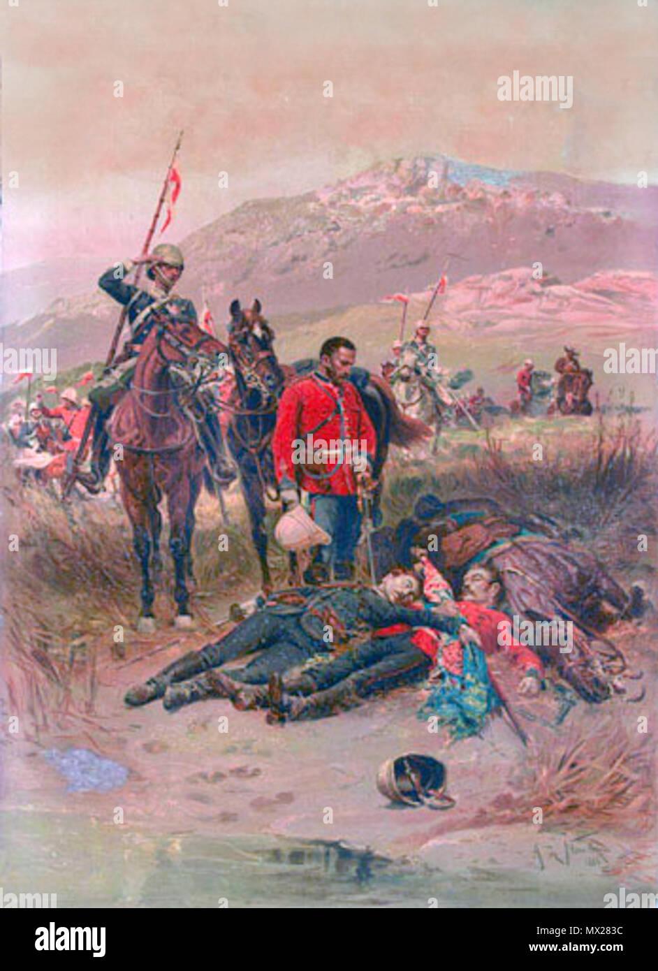 British Army 24th Foot Regiment Queens Colours Flag Regimental 2nd Warwickshire