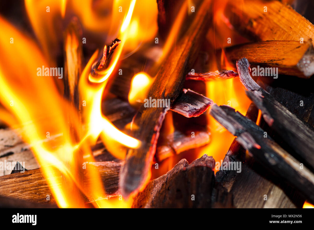 Wood Pellets In The Fire Stock Photos Amp Wood Pellets In