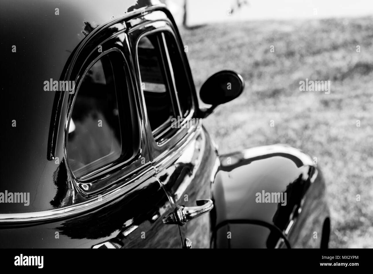 Vintage car featuring different car parts Stock Photo: 188150444 - Alamy