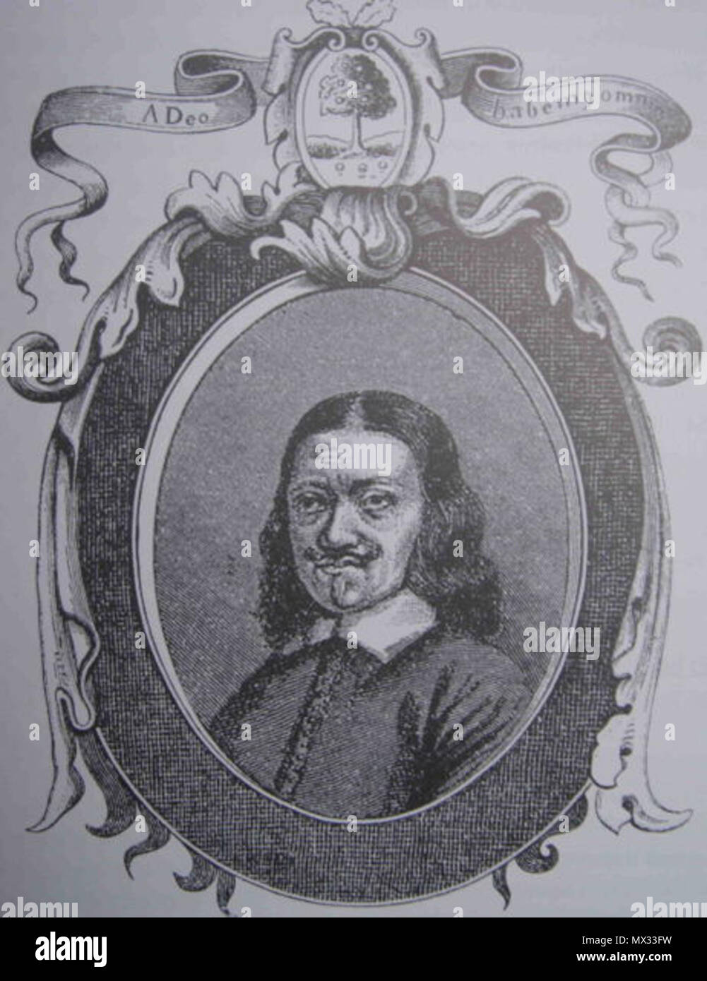 . English: Johannes Mejer (1606-1674), Danish mathematician and map maker (see Category:Maps by Johannes Mejer Dansk: Johannes Mejer (1606-1674), dansk kartograf. Unknown date but very likely more than 70 year ago. Unknown 321 JohannesMejer - Stock Image