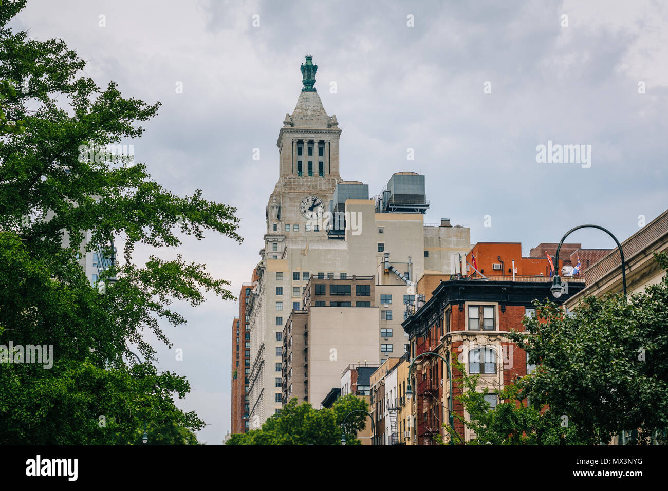 The Consolidated Edison Building, in East Village, Manhattan, New York City. - Stock Image
