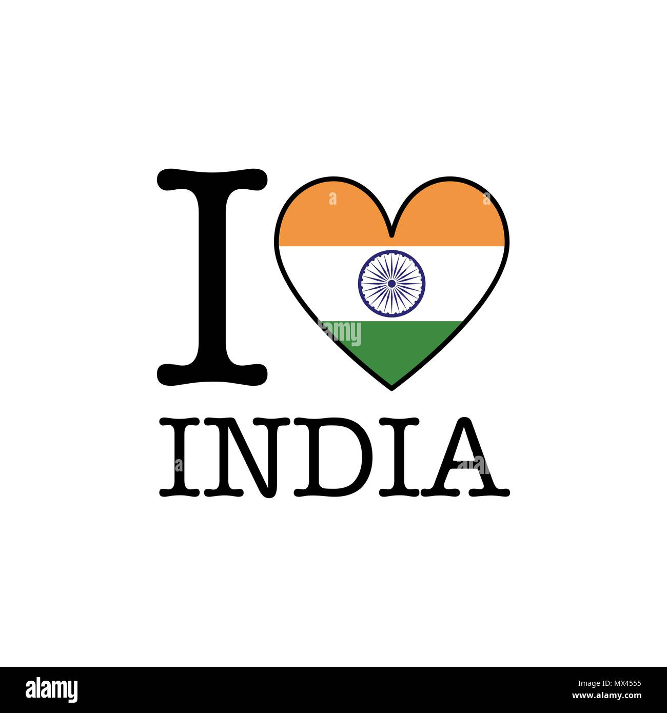 I Love My India Stock Photos & I Love My India Stock Images