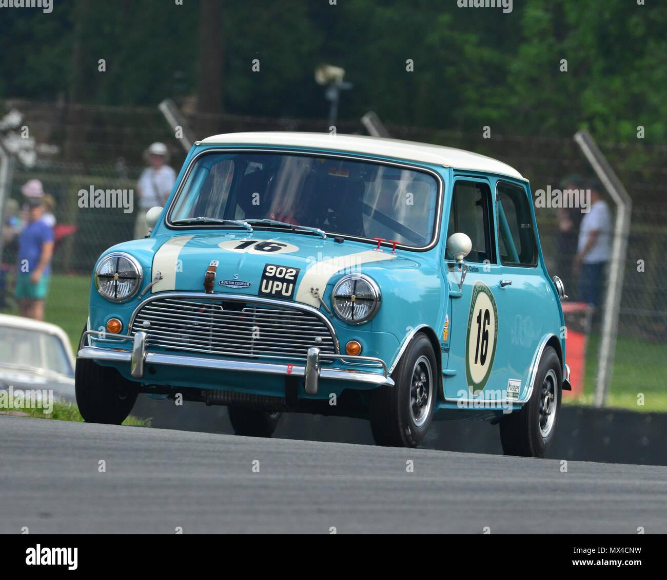 Rick Carlino Austin Mini Cooper S Masters Pre 66 Touring Cars