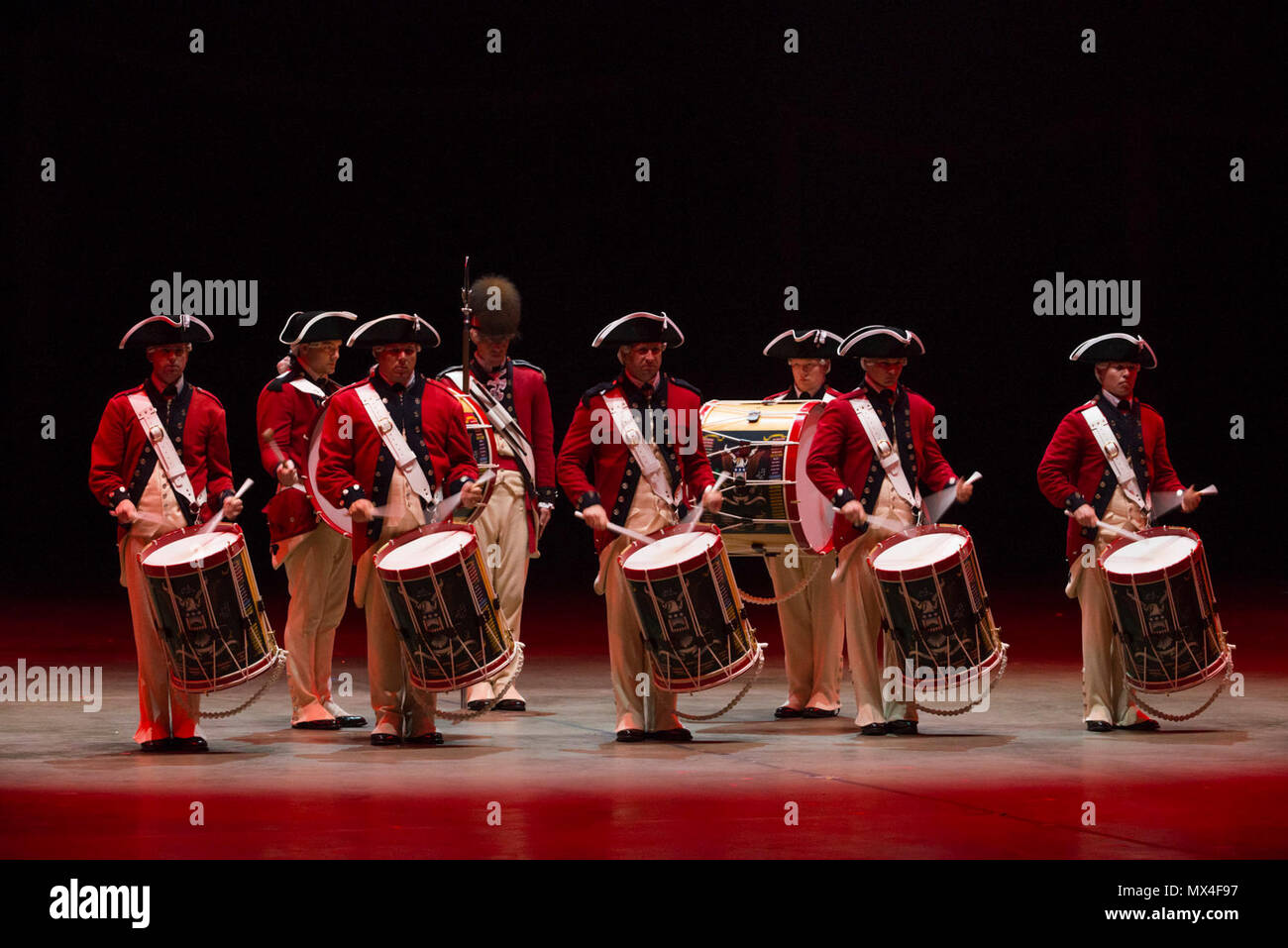 Old guard fife and drum corps stock photos old guard for Virginia international tattoo 2017