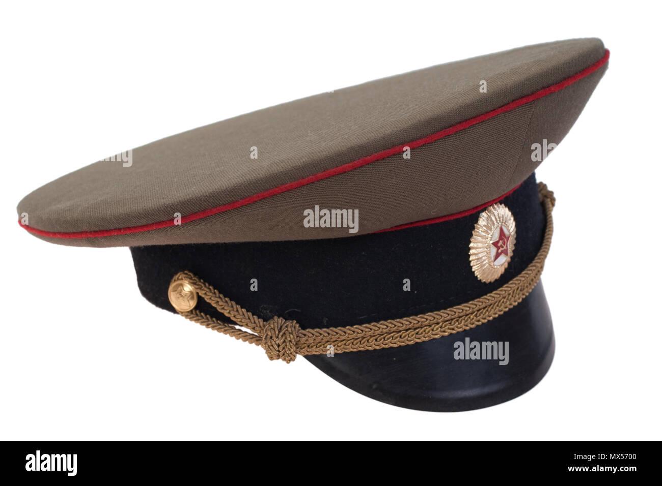 14b95cb77 Military Cap Stock Photos & Military Cap Stock Images - Alamy