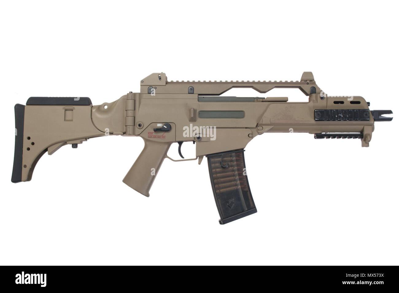 assault rifle G36 - Stock Image