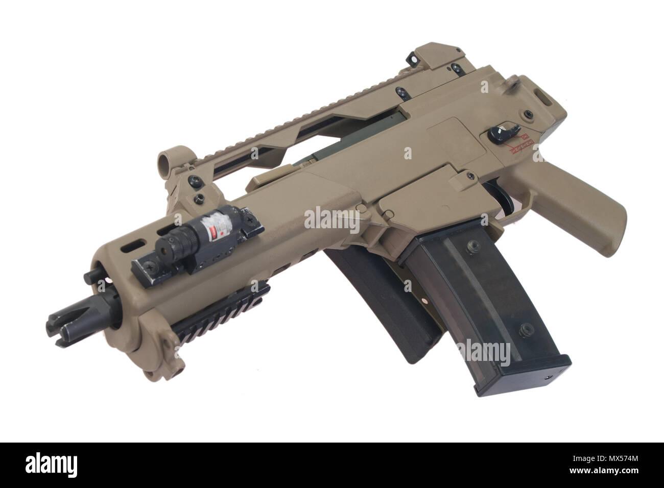 German army assault rifle G36. - Stock Image