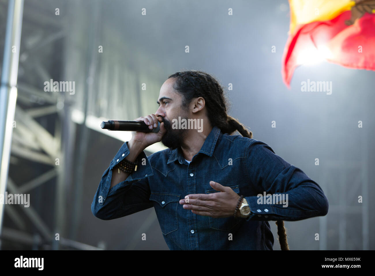 Toronto, Canada, 02nd June, 2018, Damian Marley, youngest son of